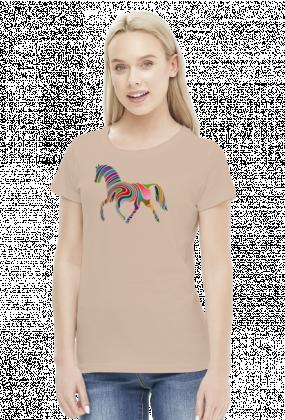Koń multicolor