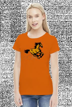 Koń - koszulka damska wzór 3