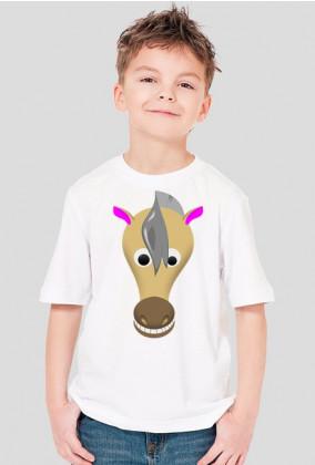 Koń komiksowy - koszulka dziecięca
