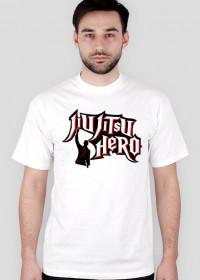 BJJ Jiu-Jitsu Hero MMA T-Shirt White