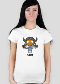 Koszulka GNU baletnica
