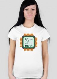 Koszulka matematyczki SERCE [women]