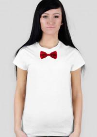 Koszulka z muszką - damska
