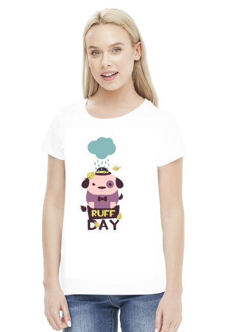 Koszulka - To był ciężki dzień - koszulki nietypowe, śmieszne - chcetomiec.cupsell.pl