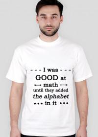 MATH koszulka męska