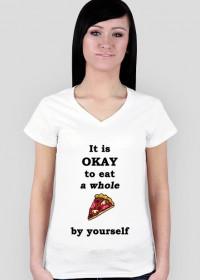 PIZZA koszulka damska