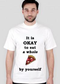 PIZZA koszulka męska