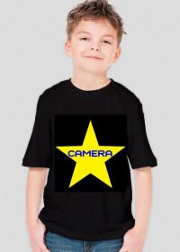 Koszulka chłopięca Gwiazda xCaMeRaPL