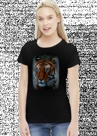 Koszulka damska z tygrysem
