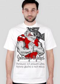 T-Shirt - Żołnierze Wyklęci - Biały - Męski