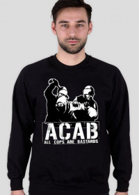 Bluza Męska Classic - ACAB - Czarny