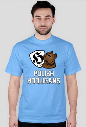 T-Shirt - Polish Hooligans - Męski - MixKolorów