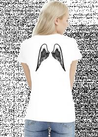 Koszulka ze skrzydłami