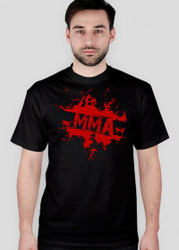 T-shirt MMA Blood 2