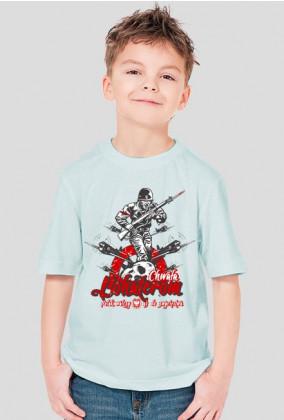 T-Shirt - Chwała Bohaterom - MixKolorów - Chłopięcy