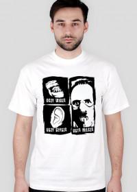 T-Shirt - Oczy widzą, uszy słyszą, usta milczą - MixKolorów - Męski