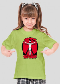 T-SHIRT - MotoSapiens Kid Girl
