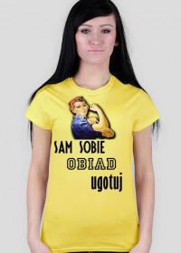 Koszulka kobiety wyzwolonej