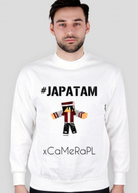 Bluza męska xCaMeRaPL #JAPATAM