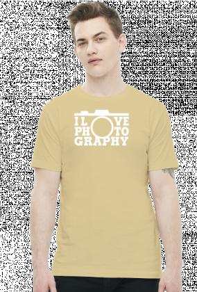 I LOVE PHOTOGRAPHY - Koszulka foto w Camwear