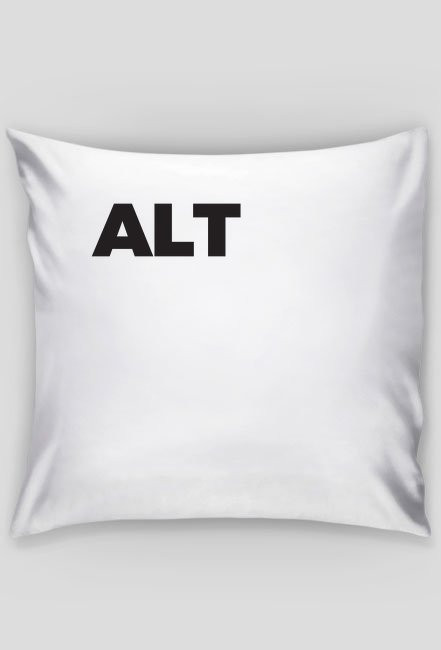 Poduszka ALT - CTRL ALT DEL - śmieszne gadżety dla informatyków - dziwneumniedziala.com