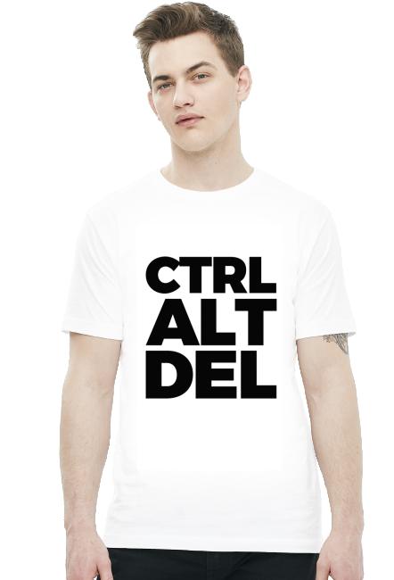 CTRL ALT DEL - Koszulki na zamówienie - nietypowe nadruki - Koszulki, które chcesz mieć