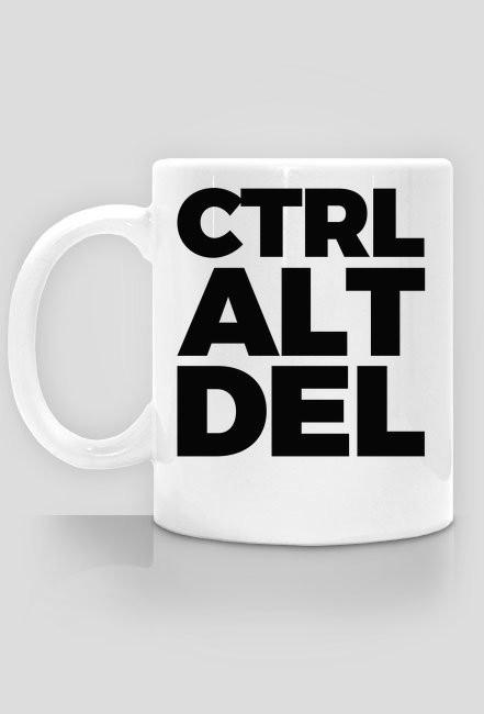Kubek -CTRL ALT DEL - śmieszne kubki - chcetomiec.cupsell.p