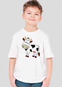 Krowa - koszulka dziecięca