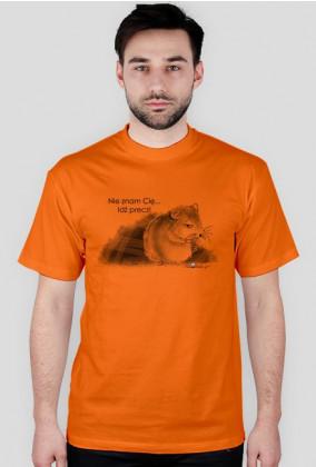 Idź precz - koszulka męska