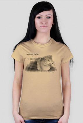 W ogonek - koszulka damska