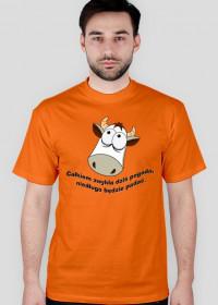 Strachliwa krowa - koszulka zwykła