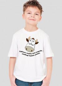 Strachliwa krowa - koszulka dziecięca