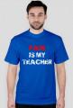 PAIN IS MY TEACHER biała