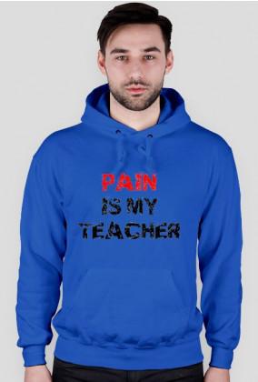 PAIN IS MY TEACHER czarna