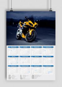 Kalendarz YAMAHA R1 2015