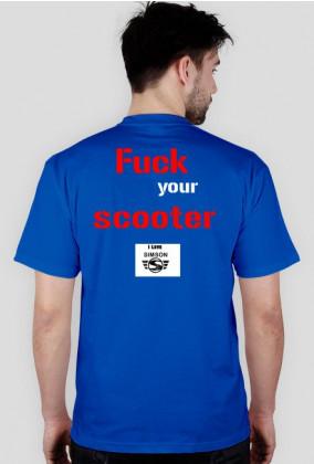 koszulka Fuck your scooter