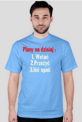 koszulka plany na dziś