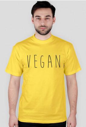 Vegan Black - koszulka wege