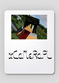 Podkładka pod myszkę logo xCaMeRaPL