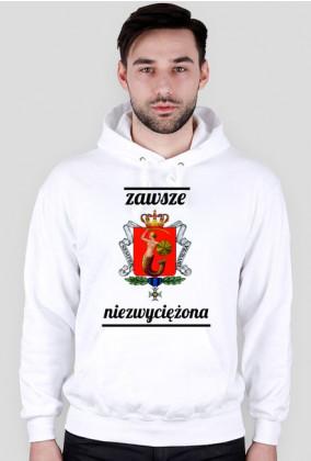 Bluza z kapturem - Warszawa, zawsze niezwyciężona