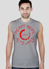 "Koszulka na siłownie Męska ""Beast Mode Activated"" 3 Kolory"