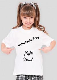 Moustache Frog Dziewczęcy Dziecięcy