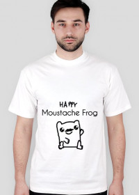 Moustache Frog Happy Męski