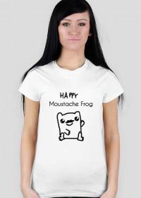Moustache Frog Happy Damski