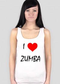 Koszulka do treningów I Love ZUMBA