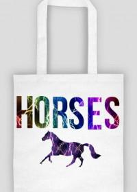Horses torba