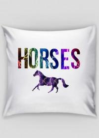 Horses poduszka