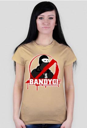 T-Shirt - Bandyci w mundurach - MixKolorów - Damski