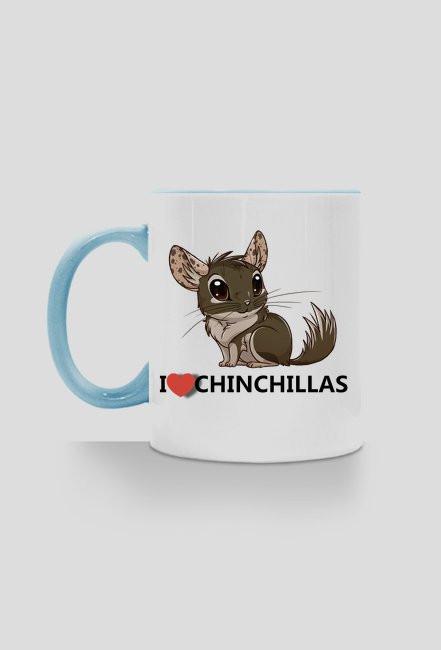 I love Chinchillas - blue