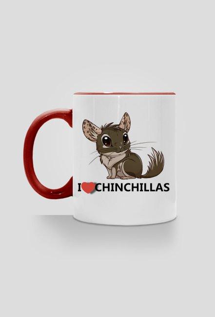 I love Chinchillas - red